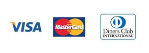 """VISA/MasterCard/Diners"""""""